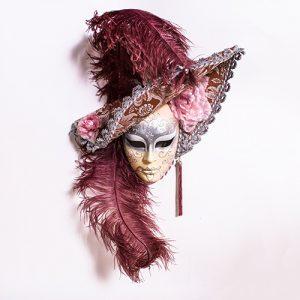 Dama Cappello Rosa