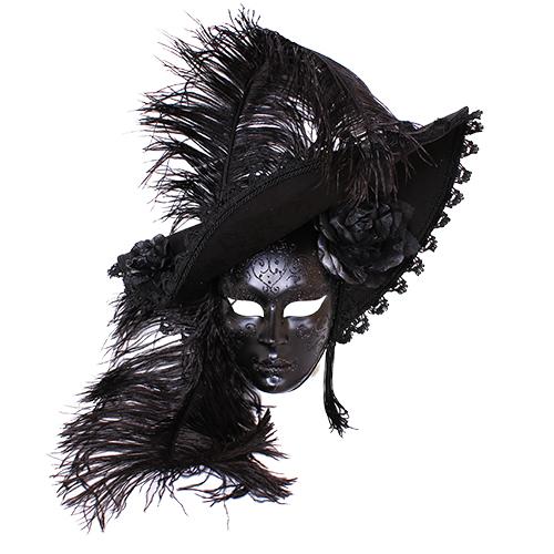 Dama Cappello Nera