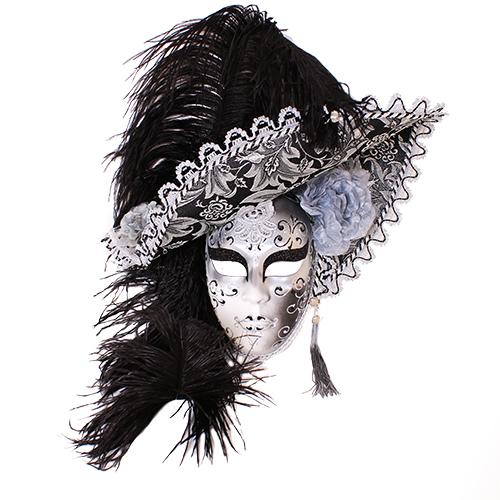 Dama Cappello Nera/Argento