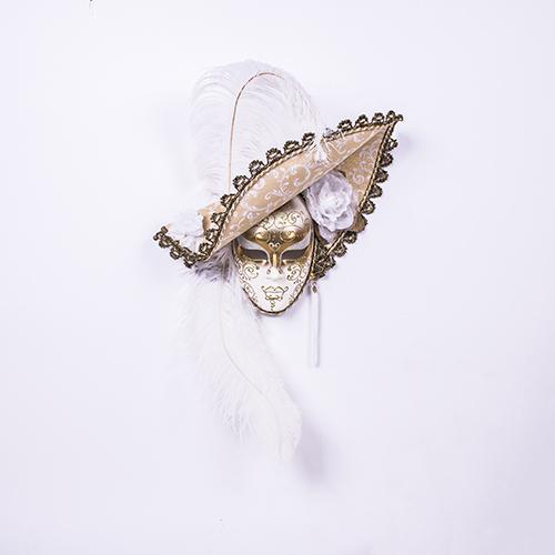 Dama Cappello Bianca