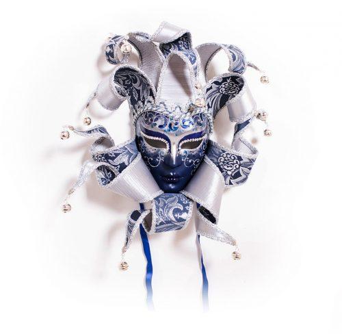 Dama 11 Ricci Lusso Blu/Argento